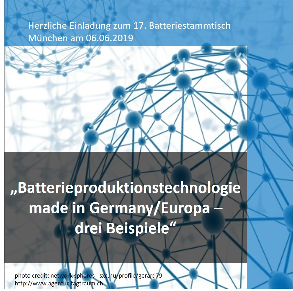 Batterieproduktionstechnologie made in Germany Dürr PEC Germany CTS Vertrieb 17 Batteriestammtisch